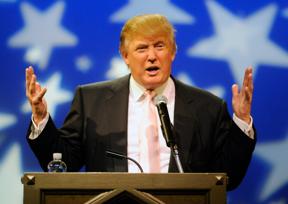 Donald Trump Speaks To GOP Women's Groups